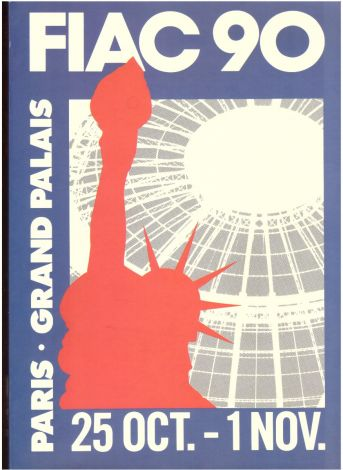 FIAC 90 - plan du salon
